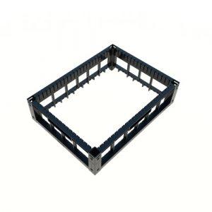 indBox - Aufsatzrahmen für industrielle Stapelbehälter