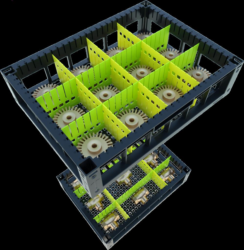 indBox - contenitori industriali in plastica e inox