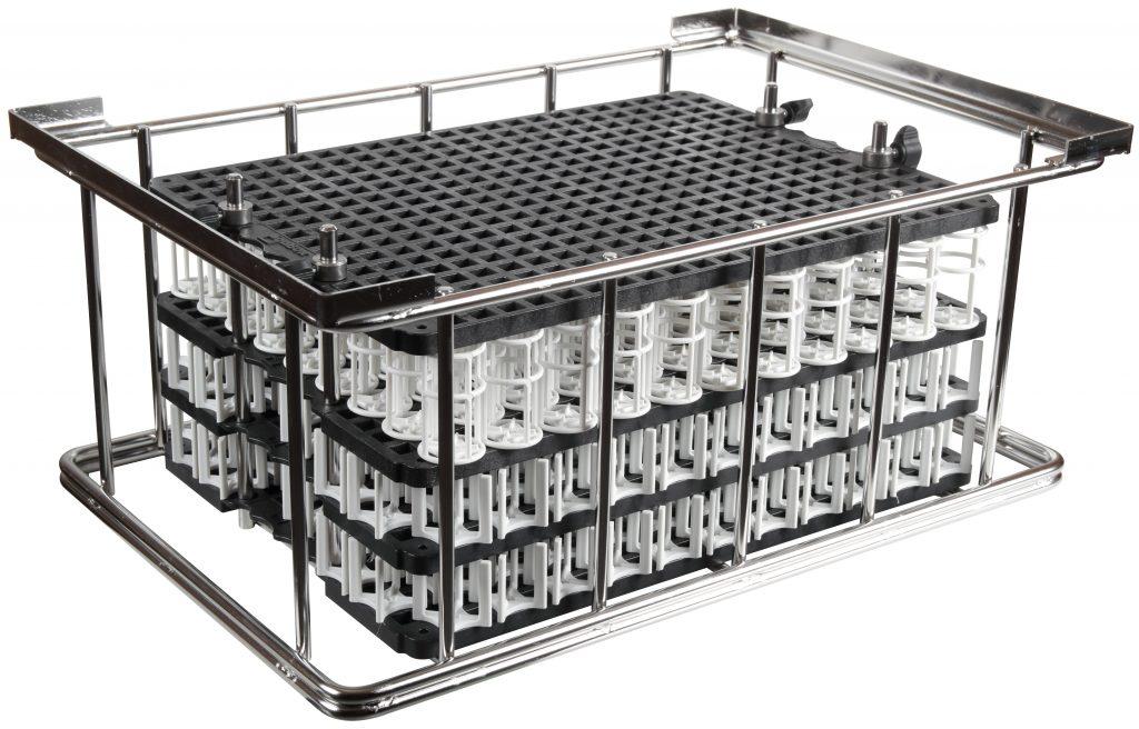 cesta chassis metallo