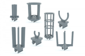indBox: esempi di pin e clip