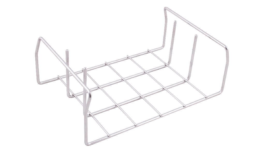 indBox - chassis / support frame holder in stainless steel for trays / grid plates