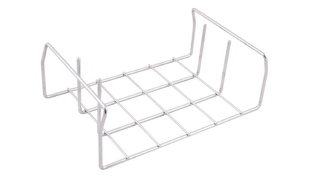 indBox: Drahtgestell für Trays / Trägerplatte
